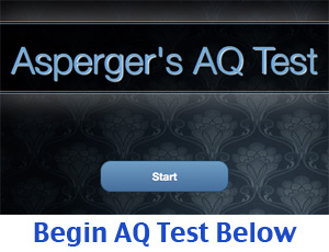 Aspergers Adult AQ Test Quiz Online: Autism Spectrum Quotient